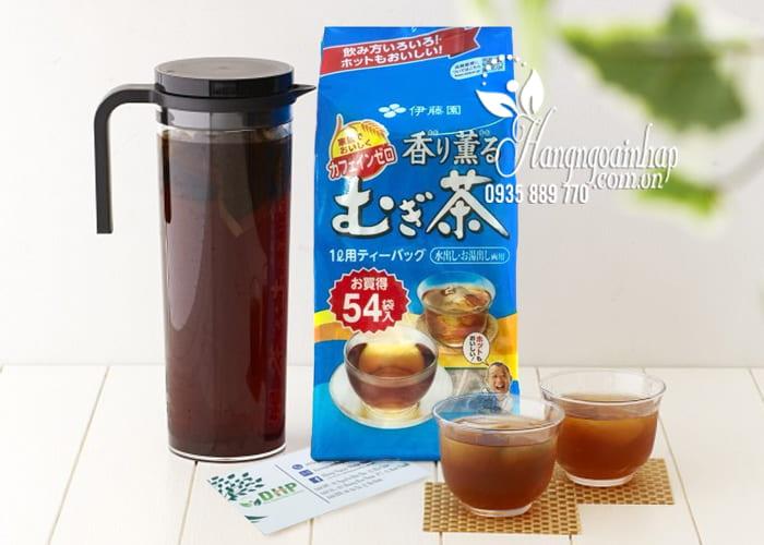 Trà lúa mạch Mugi Tea Nhật Bản 54 gói cho mọi lứa tuổi 5