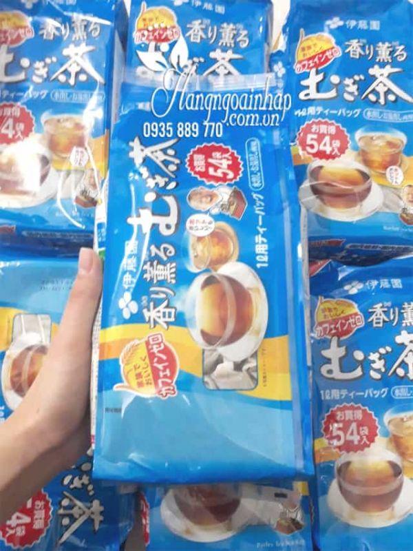 Trà lúa mạch Mugi Tea Nhật Bản 54 gói cho mọi lứa tuổi 1