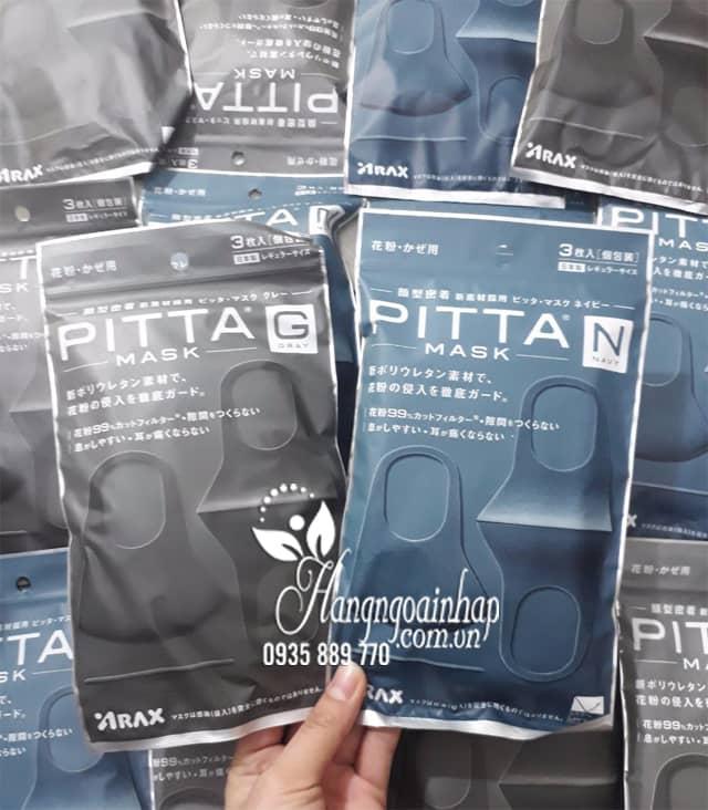 Túi 3 chiếc khẩu trang Pitta Mask của Nhật thời trang 2