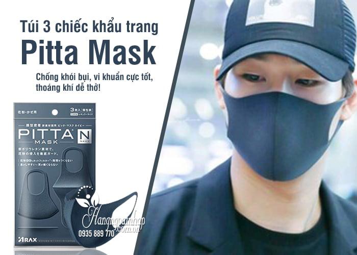 Túi 3 chiếc khẩu trang Pitta Mask của Nhật thời trang 8