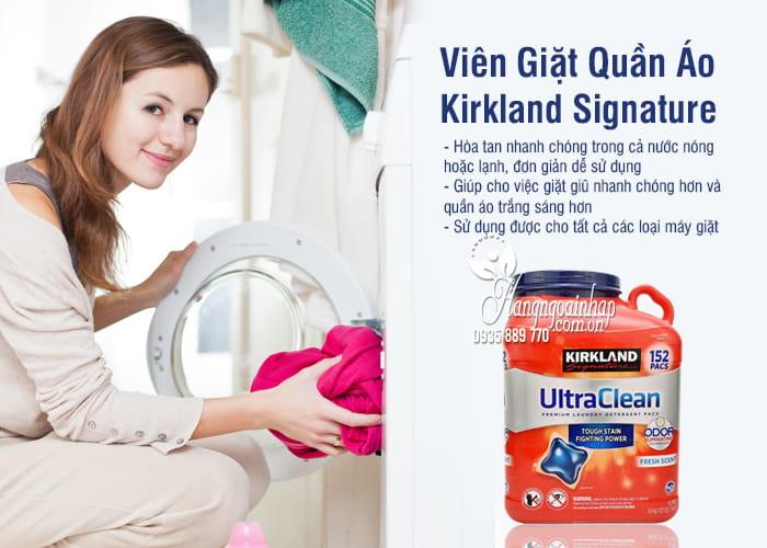 Viên Giặt Quần Áo - Kirkland Signature 152 Viên Của Mỹ 3