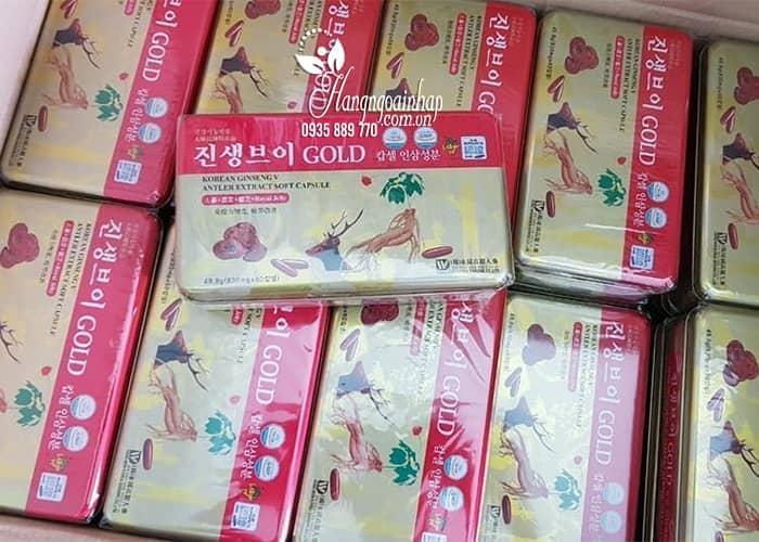 Viên sâm nhung linh chi Korean Ginseng V Antler Extract 9