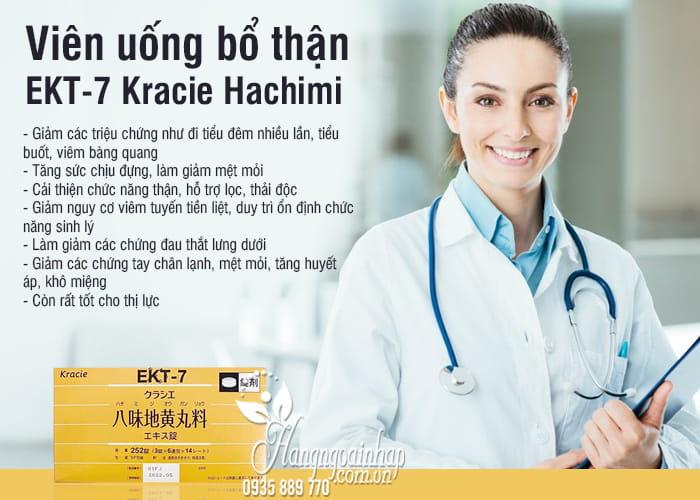 Viên uống bổ thận EKT-7 Kracie Hachimi Nhật Bản chính hãng 54