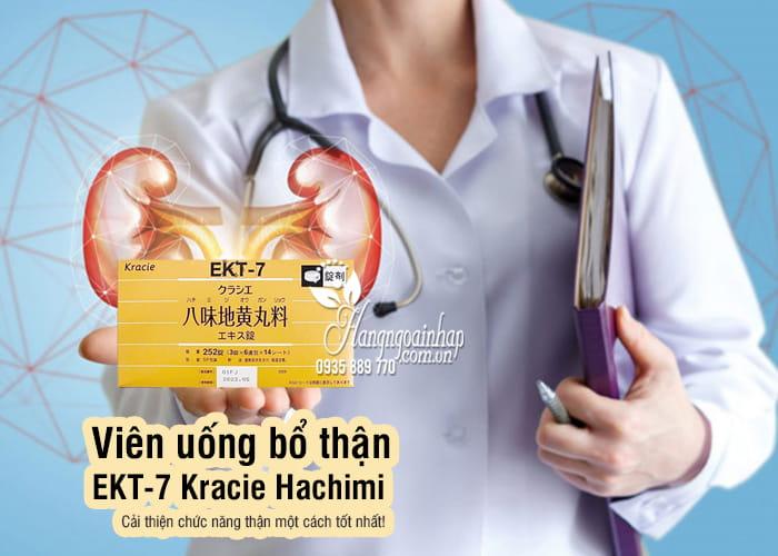 Viên uống bổ thận EKT-7 Kracie Hachimi Nhật Bản chính hãng 1