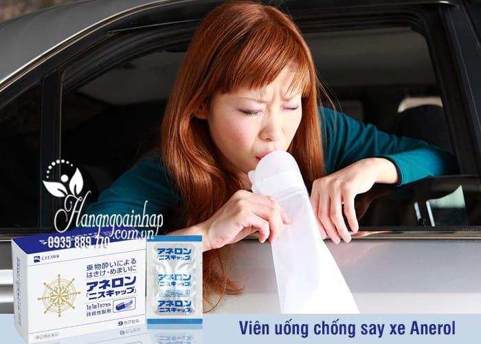 Viên uống chống say xe Anerol Nhật Bản hiệu quả nhất 6
