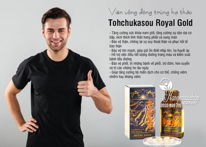 Viên uống đông trùng hạ thảo Tohchukasou Royal Gold Nhật Bản 420 viên 7