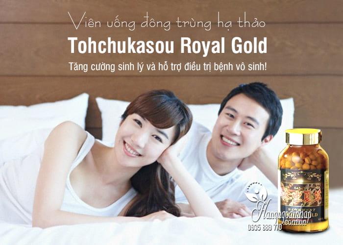 Viên uống đông trùng hạ thảo Tohchukasou Royal Gold Nhật Bản 420 viên 1