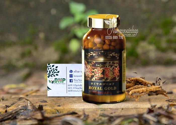 Viên uống đông trùng hạ thảo Tohchukasou Royal Gold Nhật Bản 420 viên 9