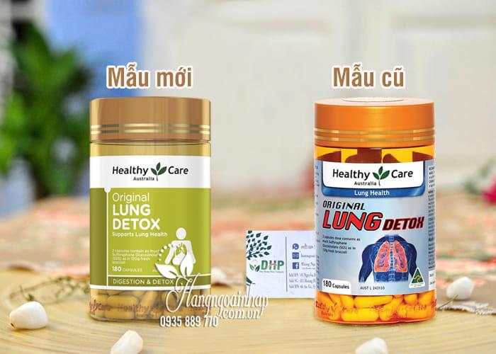 Viên uống giải độc phổi Healthy Care Original Lung Detox Úc 1