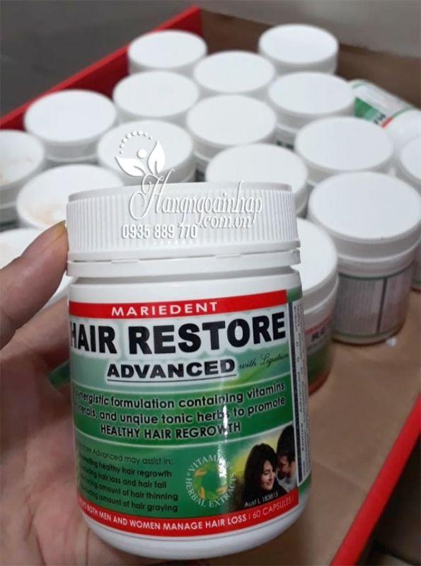 Viên uống mọc tóc Hair Restore Advanced 60 viên của Úc 7
