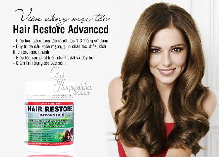 Viên uống mọc tóc Hair Restore Advanced 60 viên của Úc 2