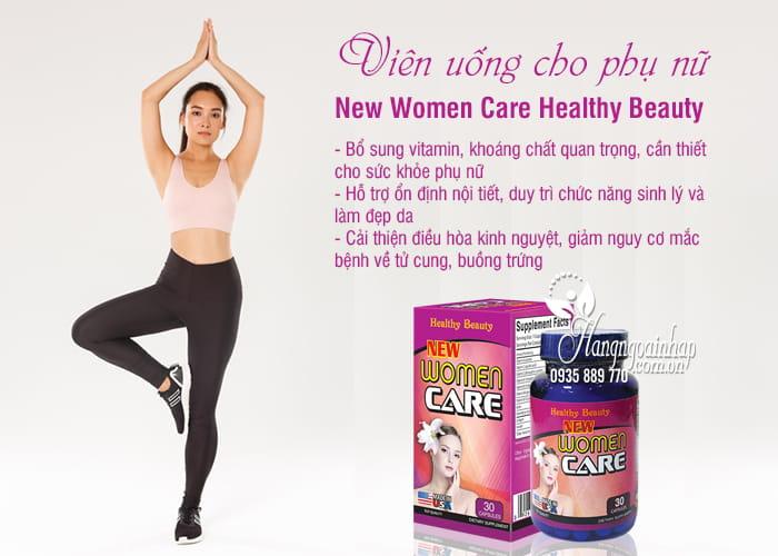 Viên uống New Women Care Healthy Beauty 30 viên cho phụ nữ 7