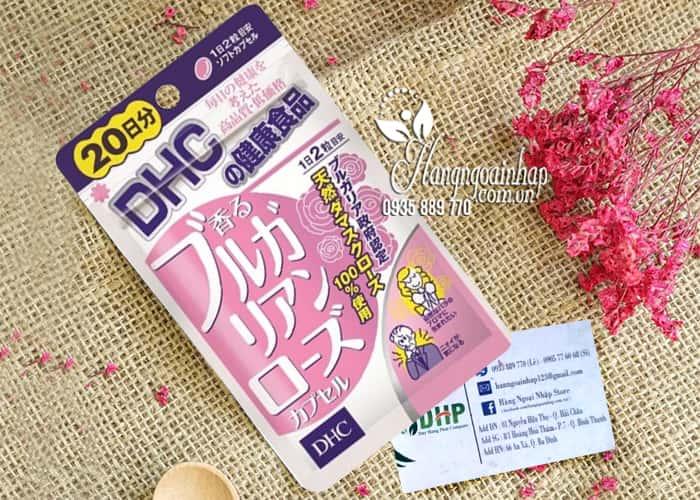 Viên uống thơm cơ thể DHC Nhật Bản từ tinh dầu hoa hồng 6