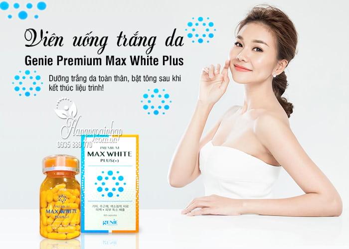 Viên uống trắng da Genie Premium Max White Plus mẫu 2020 7