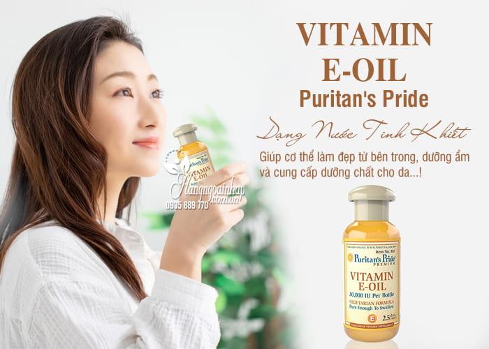Vitamin E-Oil Puritans Pride tinh khiết 30.000IU dạng nước 74ml của Mỹ 2