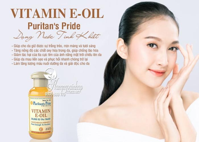 Vitamin E-Oil Puritans Pride tinh khiết 30.000IU dạng nước 74ml của Mỹ 4