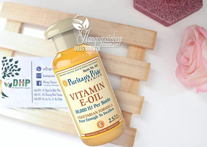 Vitamin E-Oil Puritans Pride tinh khiết 30.000IU dạng nước 74ml của Mỹ 8