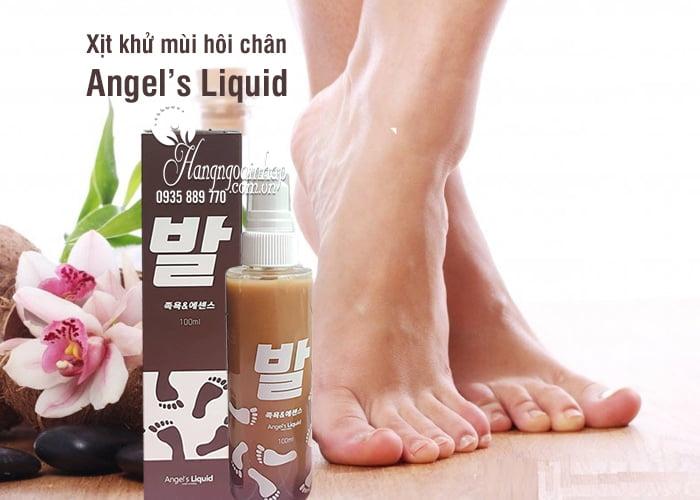 Xịt khử mùi hôi chân Angel's Liquid 100ml của Hàn Quốc 6