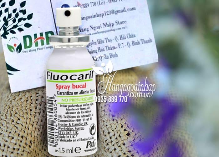 Xịt thơm miệng Fluocaril Spray Buccal 15ml chính hãng Pháp 2