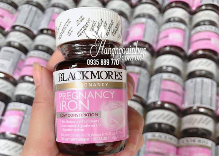 Viên sắt cho bà bầu Blackmores Pregnancy Iron 30 viên của Úc 4