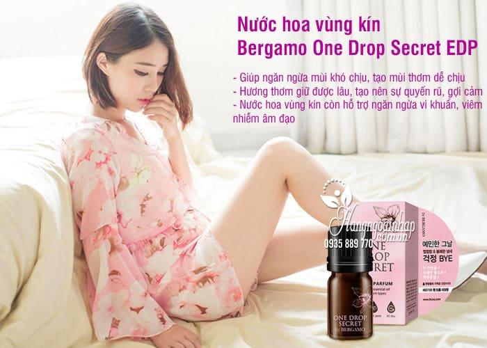 Nước hoa vùng kín Bergamo One Drop Secret EDP 5ml Hàn Quốc 34
