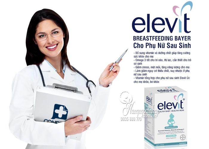 Thuốc Elevit Breastfeeding  bổ sung Vitamin cho phụ nữ sau khi sinh 3