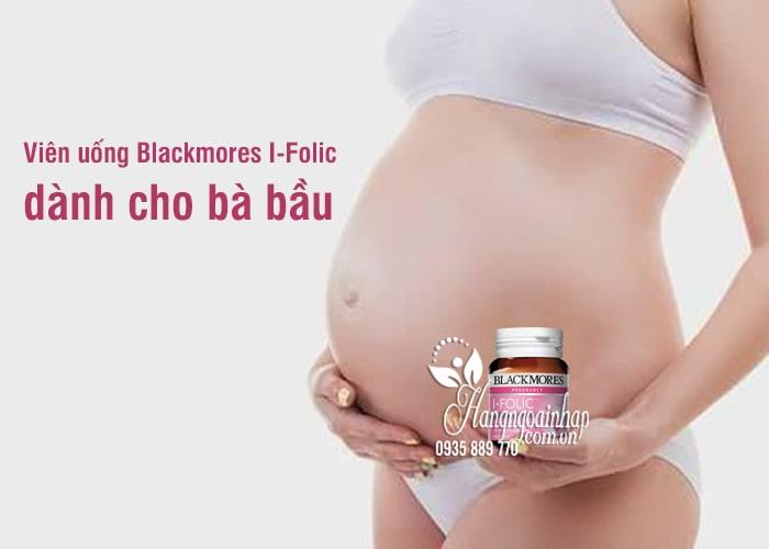 Viên uống Blackmores I-Folic 150 viên của Úc dành cho bà bầu 6