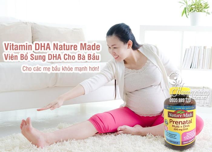 Vitamin DHA Nature Made Mỹ 150 Viên Bổ Sung DHA Cho Bà Bầu 2