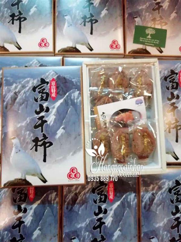Hồng dẻo Hosagaki Nhật Bản 800g hộp 8 trái cao cấp chính hãng 1