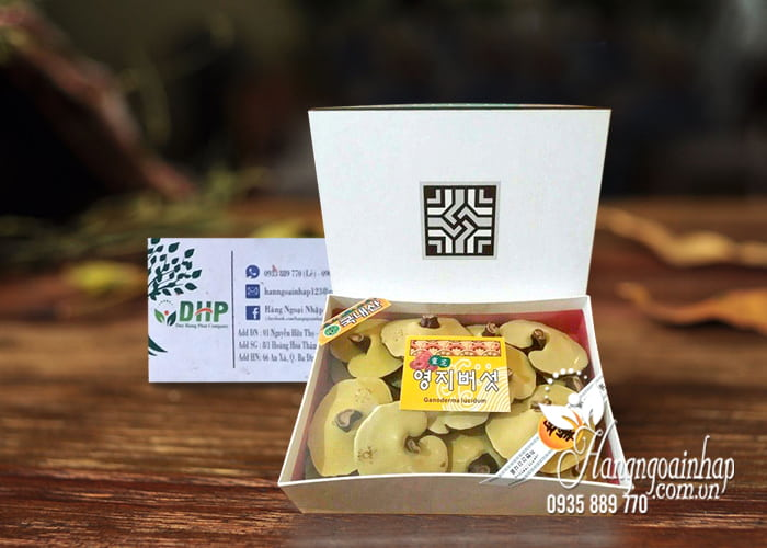 Nấm linh chi Ganoderma Lucidum chính hãng Hàn, loại 1 1