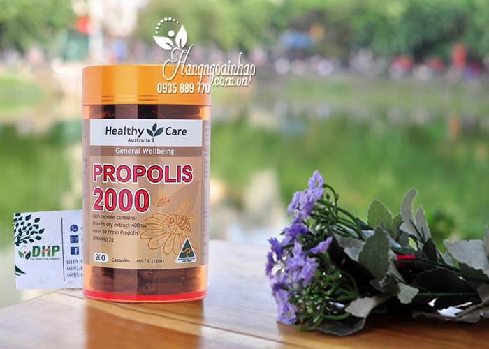 Viên uống keo ong Healthy Care Propolis 2000mg 200 viên của Úc 1