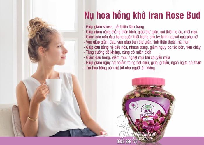 Nụ hoa hồng khô Iran Rose Bud 200g chính hãng, làm đẹp da 1