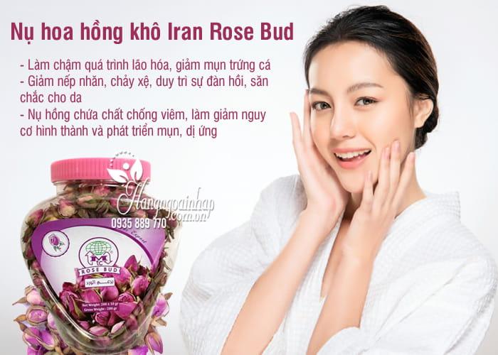 Nụ hoa hồng khô Iran Rose Bud 200g chính hãng, làm đẹp da 5
