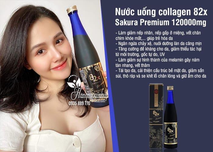 Nước uống collagen 82x Sakura Premium 120000mg mẫu mới 55