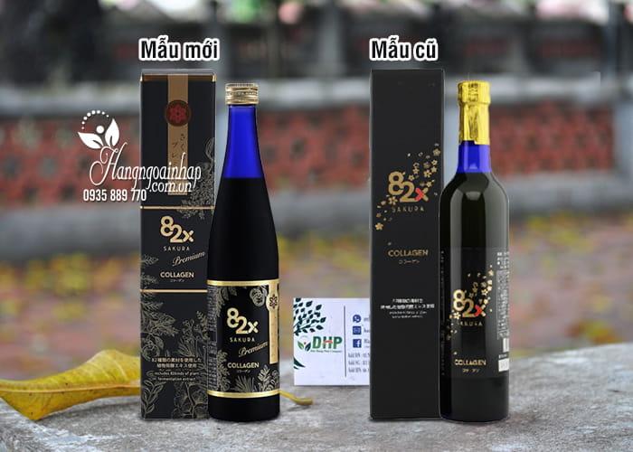 Nước uống collagen 82x Sakura Premium 120000mg mẫu mới 11