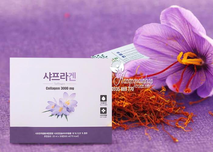 Nước uống nhụy hoa nghệ tây Saffron Collagen 3000mg 30 chai 4