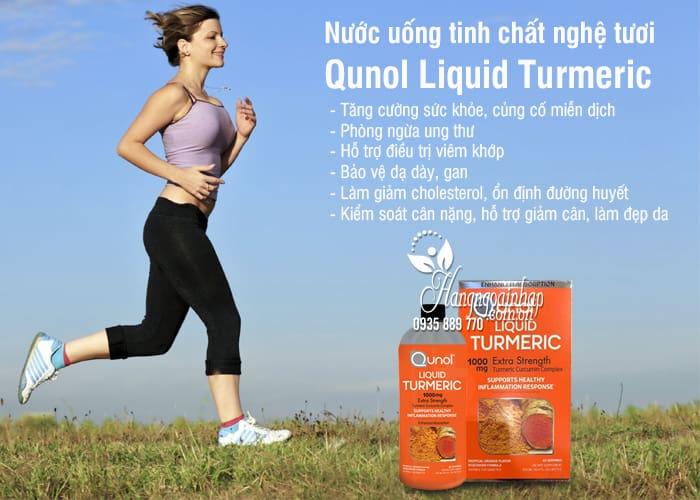 Nước uống tinh chất nghệ tươi Qunol Liquid Turmeric 1000mg 6