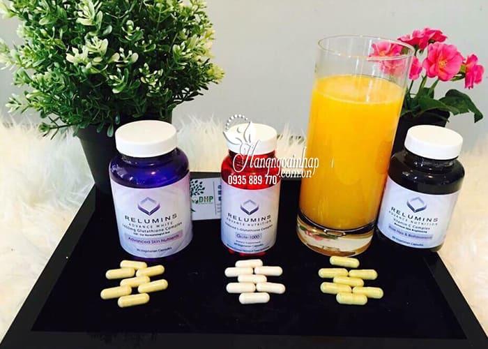 Viên uống trắng da Relumins Advance Nutrition Gluta-1000 Mỹ 1