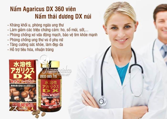 Nấm Agaricus DX 360 viên - Nấm thái dương DX núi của Nhật Bản 1