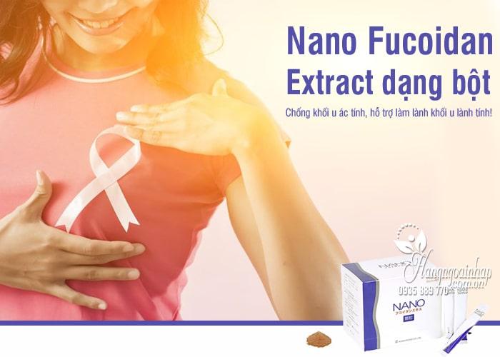 Nano Fucoidan Extract dạng bột của Nhật Bản, hộp 60 gói 8