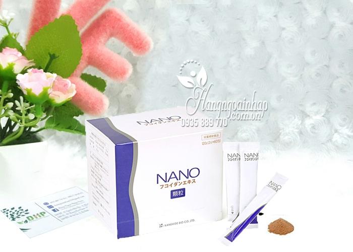 Nano Fucoidan Extract dạng bột của Nhật Bản, hộp 60 gói 6