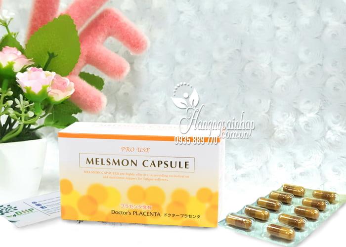 Viên uống nhau thai Melsmon Capsule Pro Use Doctor's Placenta 1