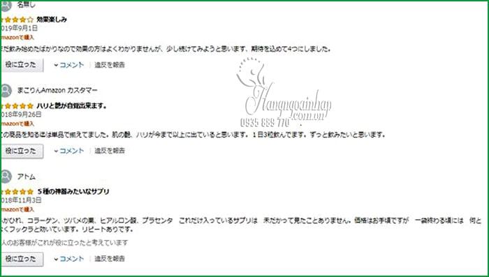 Viên uống đẹp da Collagen tươi của Nhật 30 viên, giá đại lý 6
