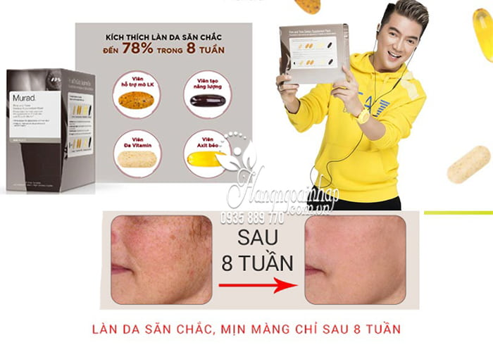 Viên uống tổng thể Murad Firm And Tone Dietary Supplement Pack 1