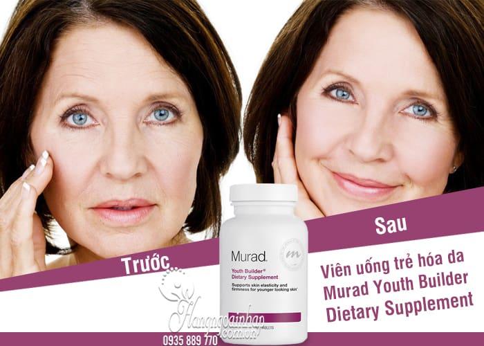 Viên uống trẻ hóa da Murad Youth Builder Dietary Supplement 120 viên 7