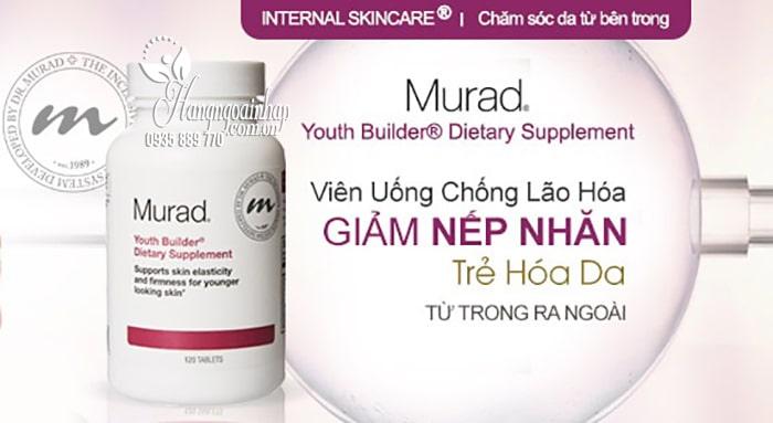 Viên uống trẻ hóa da Murad Youth Builder Dietary Supplement 120 viên 6