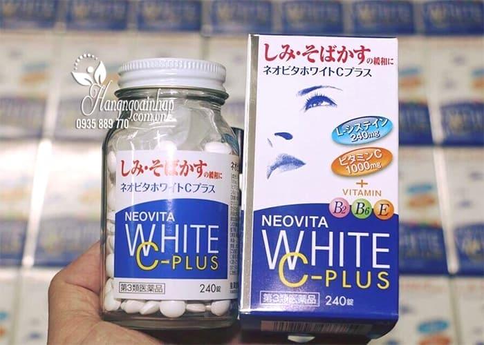 Vita White Plus C.E.B2 - Viên Uống Trắng Da, Trị Nám Tàn Nhang 9