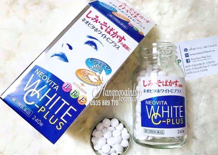 Vita White Plus C.E.B2 - Viên Uống Trắng Da, Trị Nám Tàn Nhang 8