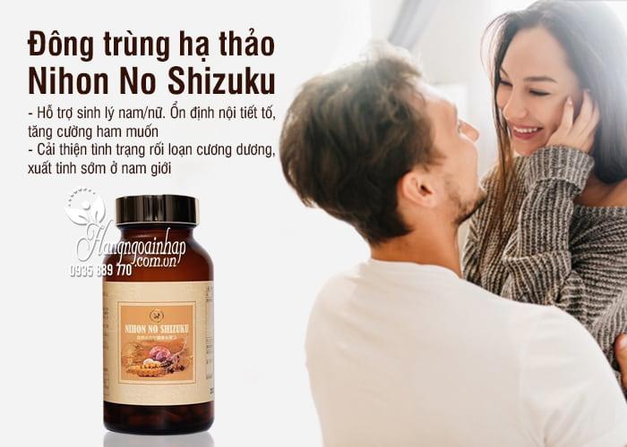 Đông trùng hạ thảo Nihon No Shizuku 150 viên Nhật Bản 8