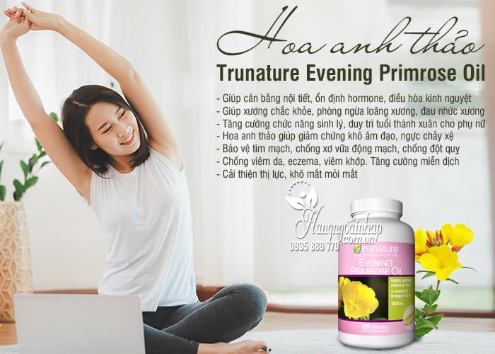 Hoa anh thảo Trunature Evening Primrose Oil 1000mg 200 viên 2